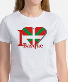 I love Basque Tee