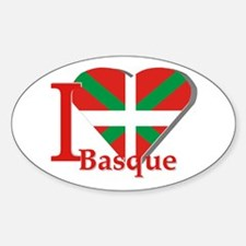 I love Basque Decal