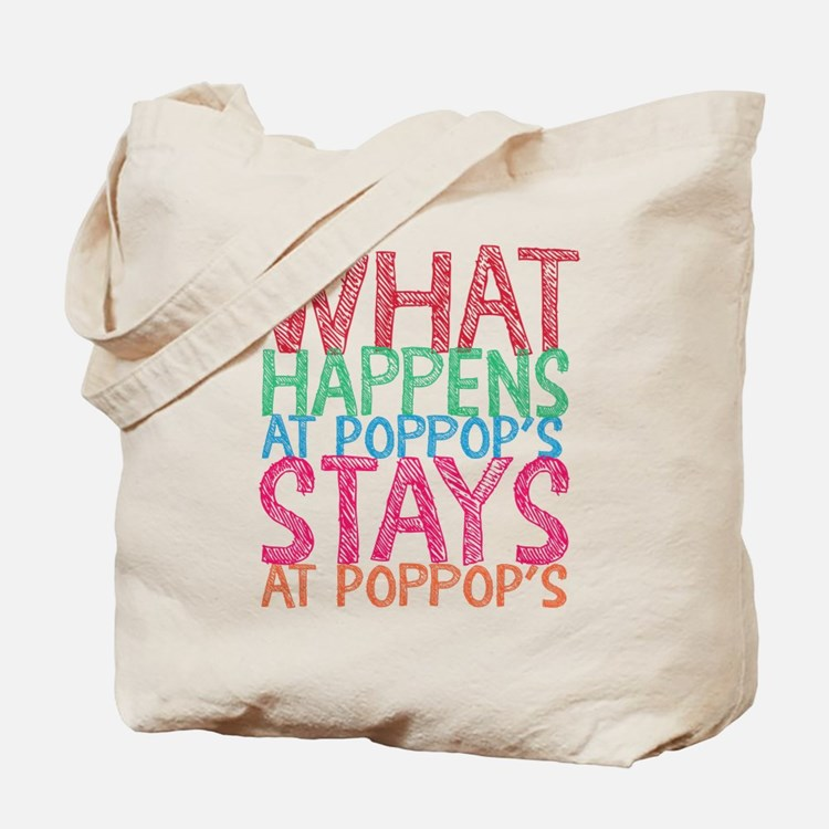 What Happens Poppop's Tote Bag