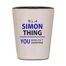 Unique Simone Shot Glass