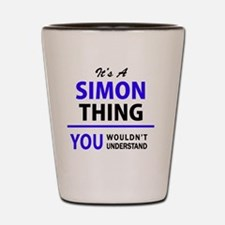 Unique Simon Shot Glass