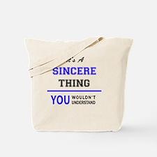 Cute Sincere Tote Bag