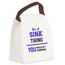 Cute Sinks Canvas Lunch Bag