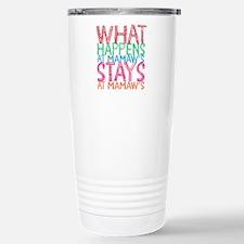 What Happens at Mamaw's Travel Mug