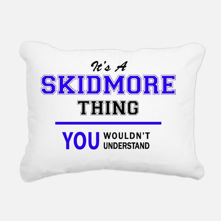 Cute Skidmore college Rectangular Canvas Pillow