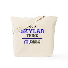Cute Skylar Tote Bag
