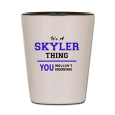 Cute Skyler Shot Glass