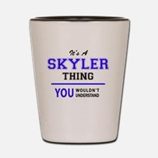 Cool Skyler Shot Glass