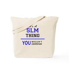 Cute Slm Tote Bag