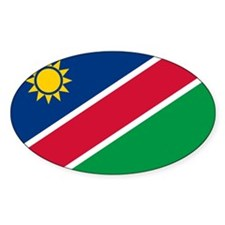 Namibia Flag Oval Decal