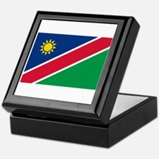 Namibia Flag Keepsake Box