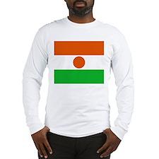 Niger Flag Long Sleeve T-Shirt