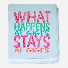 What Happens at Gigi's baby blanket