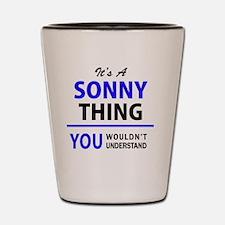 Cute Sonny Shot Glass