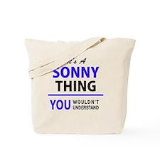 Cute Sonny Tote Bag