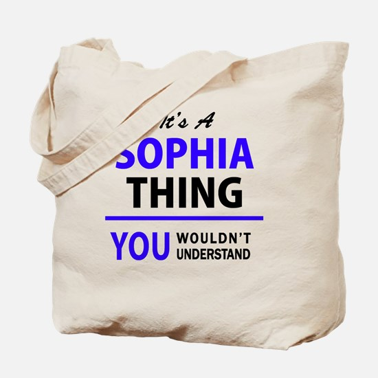 Unique Sophia Tote Bag