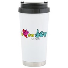 Cute I love you in asl Travel Mug