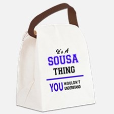 Cute Sousa Canvas Lunch Bag