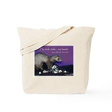 Ferret Fur Tote Bag