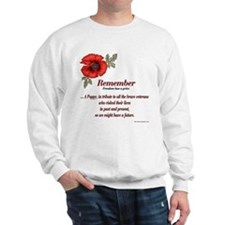 Remember Poppy Sweatshirt