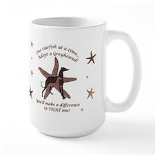 Starfish Story Greyhound Mug