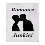 Romance Junkie Throw Blanket