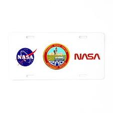 Pad Rescue Team Aluminum License Plate