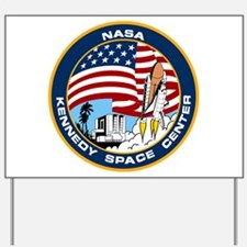 Kennedy Space Center Yard Sign