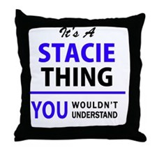 Cute Stacy Throw Pillow