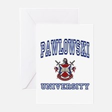 PAWLOWSKI University Greeting Cards (Pk of 10)