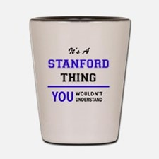 Funny Stanford Shot Glass