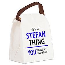 Unique Stefan Canvas Lunch Bag