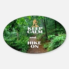 Keep Calm and Hike On Decal