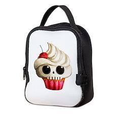 Cute Cupcake Neoprene Lunch Bag