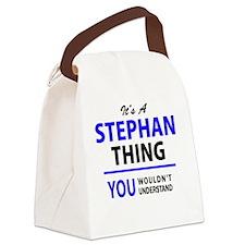 Unique Stephan Canvas Lunch Bag