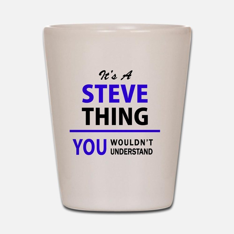 Cute Steve Shot Glass