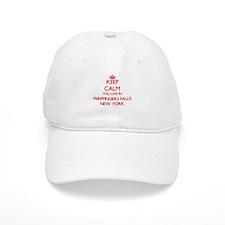 Keep calm you live in Wappingers Falls New Yor Baseball Cap