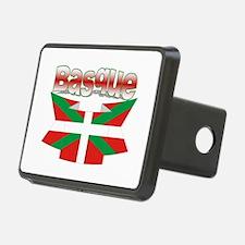 Basque flag ribbon Hitch Cover