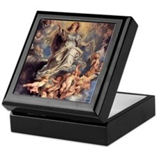 Assumption of the Holy Virgin Mary Keepsake Box