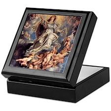 Assumption of the Holy Virgin Mary Keepsake Box