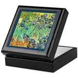 Fine art van gogh Square Keepsake Boxes