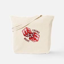 Dice_Casino_Night Tote Bag