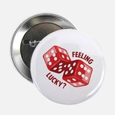 """Dice_Feeling_Lucky 2.25"""" Button (10 pack)"""