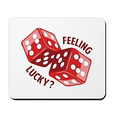 Dice_Feeling_Lucky Mousepad