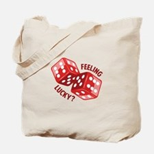 Dice_Feeling_Lucky Tote Bag