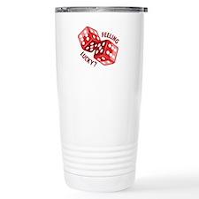 Dice_Feeling_Lucky Travel Mug