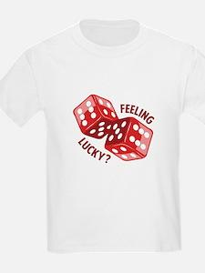 Dice_Feeling_Lucky T-Shirt