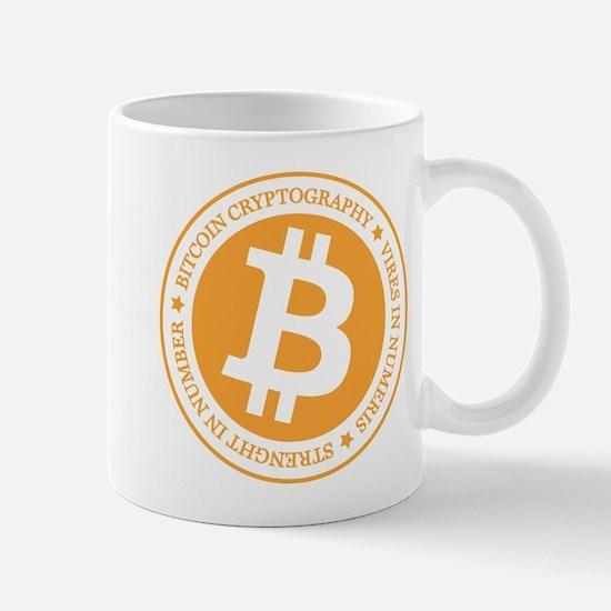 Type 1 Bitcoin Logo Mugs