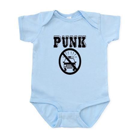Punk No Cops Infant Bodysuit