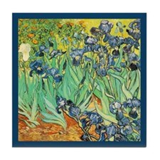Vincent Van Gogh Irises Tile Coaster